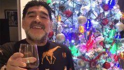 Diego Maradona pasó la navidad de 2019 muy triste
