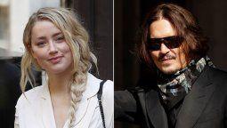 Amber Heard y Johnny Depp protagonizan un juicio de separación muy polémico en un tribunal de Londres