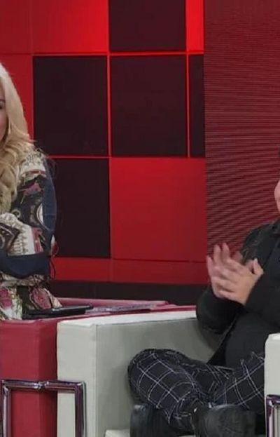 Verónica Ojeda junto a su hijo Dieguito Fernando Maradona, en LAM