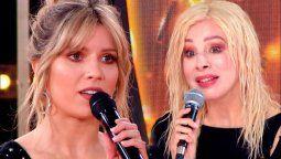 La pelea entre Laurita Fernández y Nacha Guevara logró subir el rating del Cantando 2020