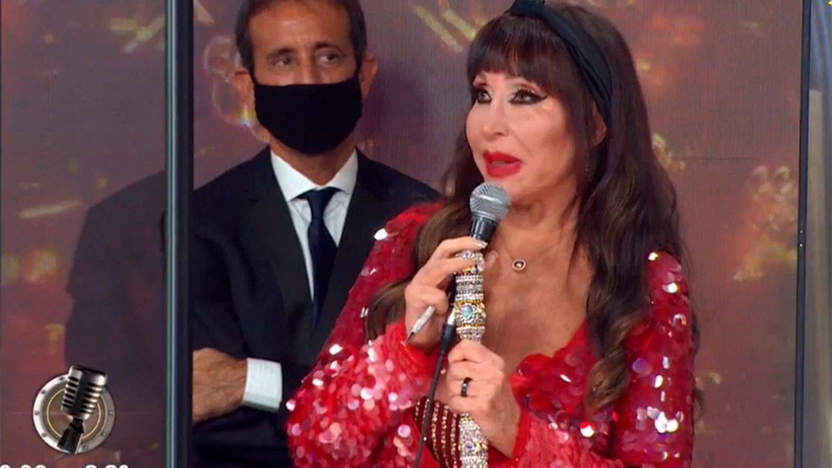 Moria Casán reaccionó ante la queja de Nacha Guevara sobre su puesto en el Cantando