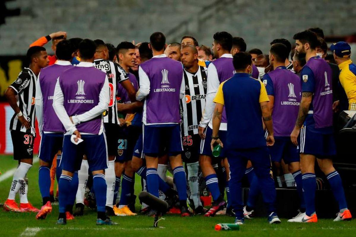En el comunicado de Boca Juniors se expresa el repudio a la conmebol y a los árbitros