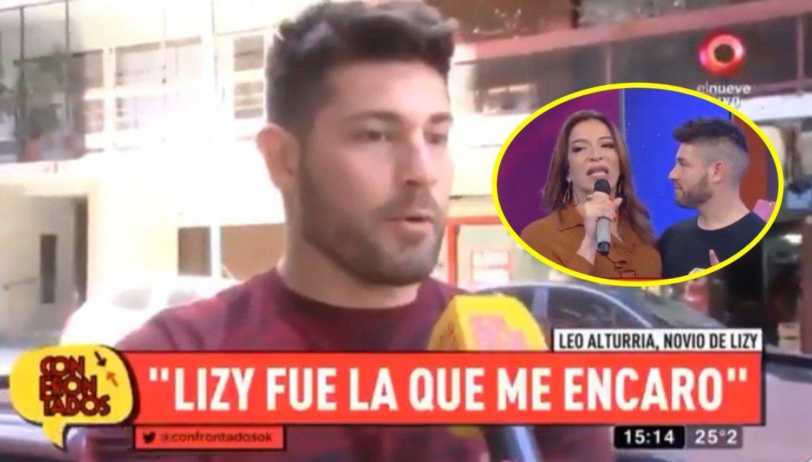 El novio de Lizy Tagliani se confesó: Yo me siento famoso antes de ella