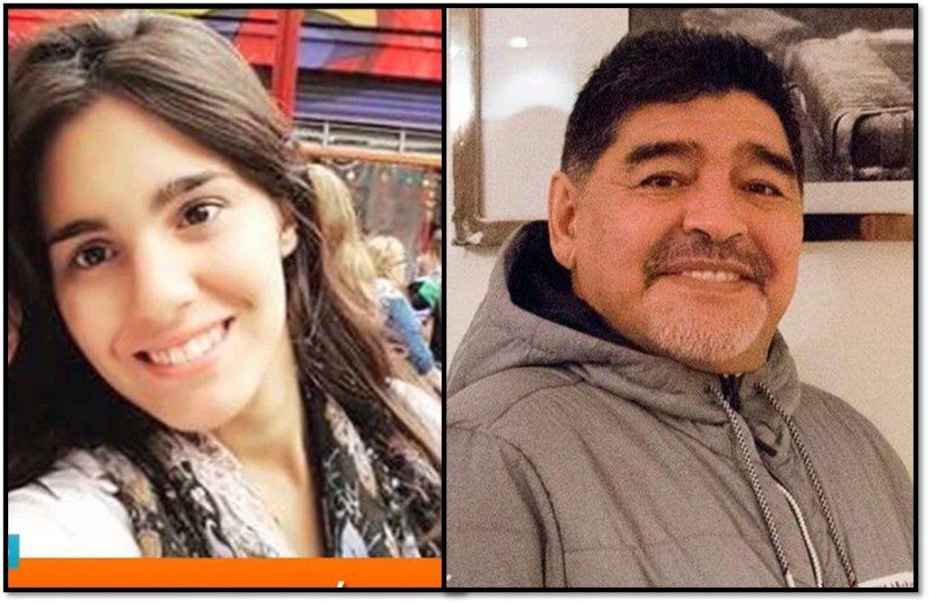 La historia de Magali, la supuesta séptima hija de Diego Maradona