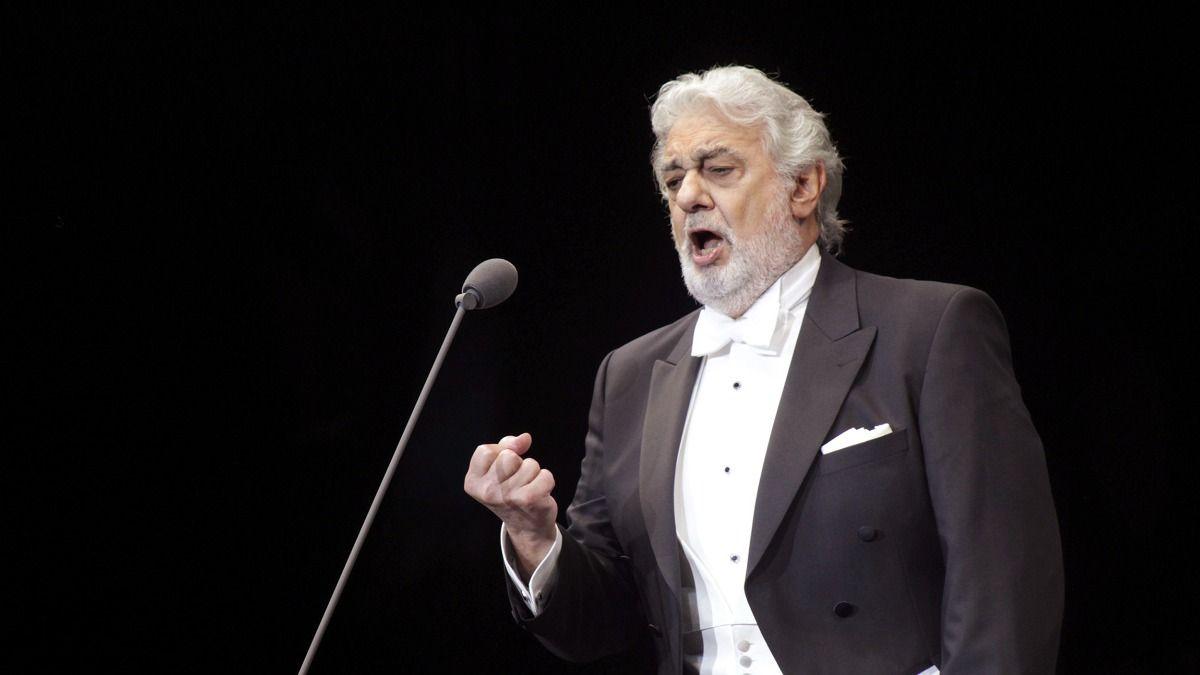 La primera presentación del tenor Plácido Domingo se celebró en el Auditorio Nacional de Madrid
