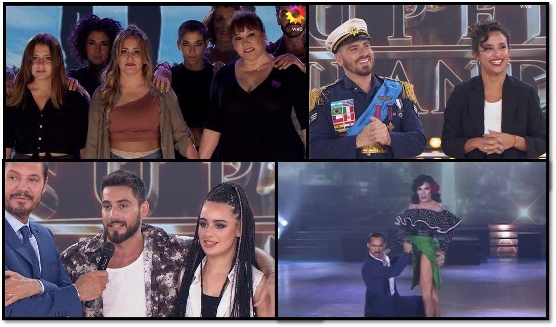 Karina pasó a la semifinal en una noche de llena de agradecimientos, elogios y un poco de falsedad en el último ritmo del Súper bailando