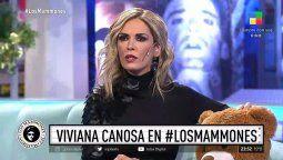 Viviana Canosa sorprendió en Los Mammones