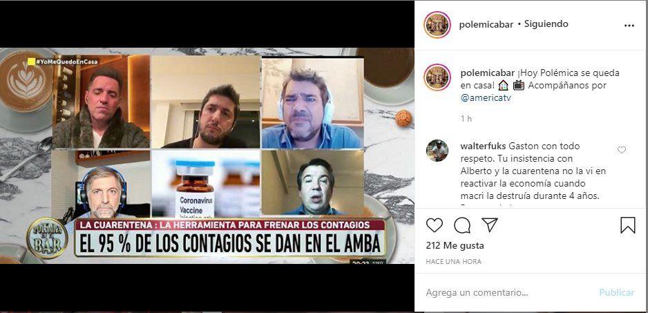 El programa anunció a través de su cuenta en Instagram que los panelistas transmitirán desde sus casas