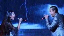 Brian Lanzelotta y Ángela Leiva la rompieron en la reciente gala del Cantando 2020
