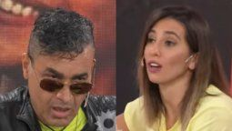 Cinthia Fernández le dijo rastrero malagradecido a Cau Bornes en vivo