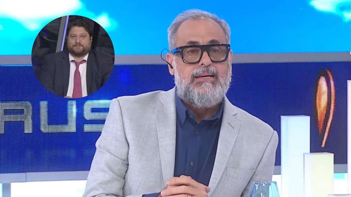 Jorge Rial se cruzó con Nicolás Wiñazki tras la nota a Susana Giménez