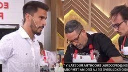 El gran premio de la cocina: un participante se enfrentó con Juan Marconi