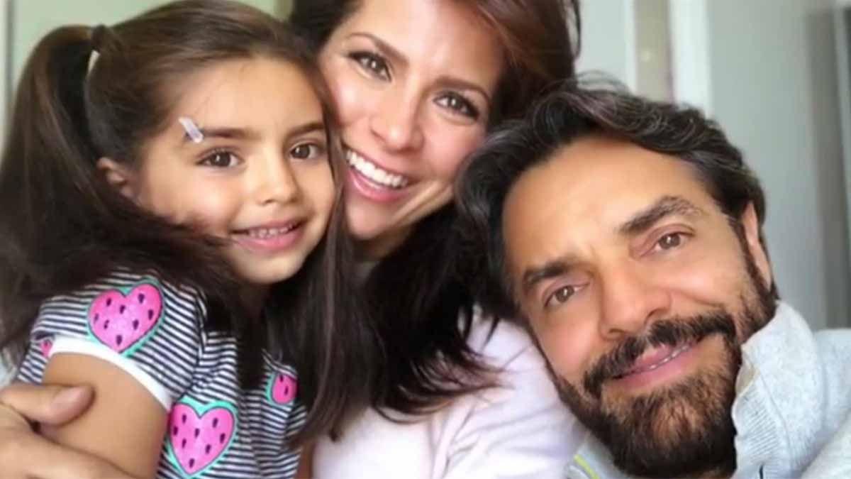 La original felicitación que Eugenio Derbez le hizo a su esposa Alessandra Rosaldo