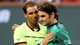 Rafa Nadal desea que Roger Federer regrese de manera óptima