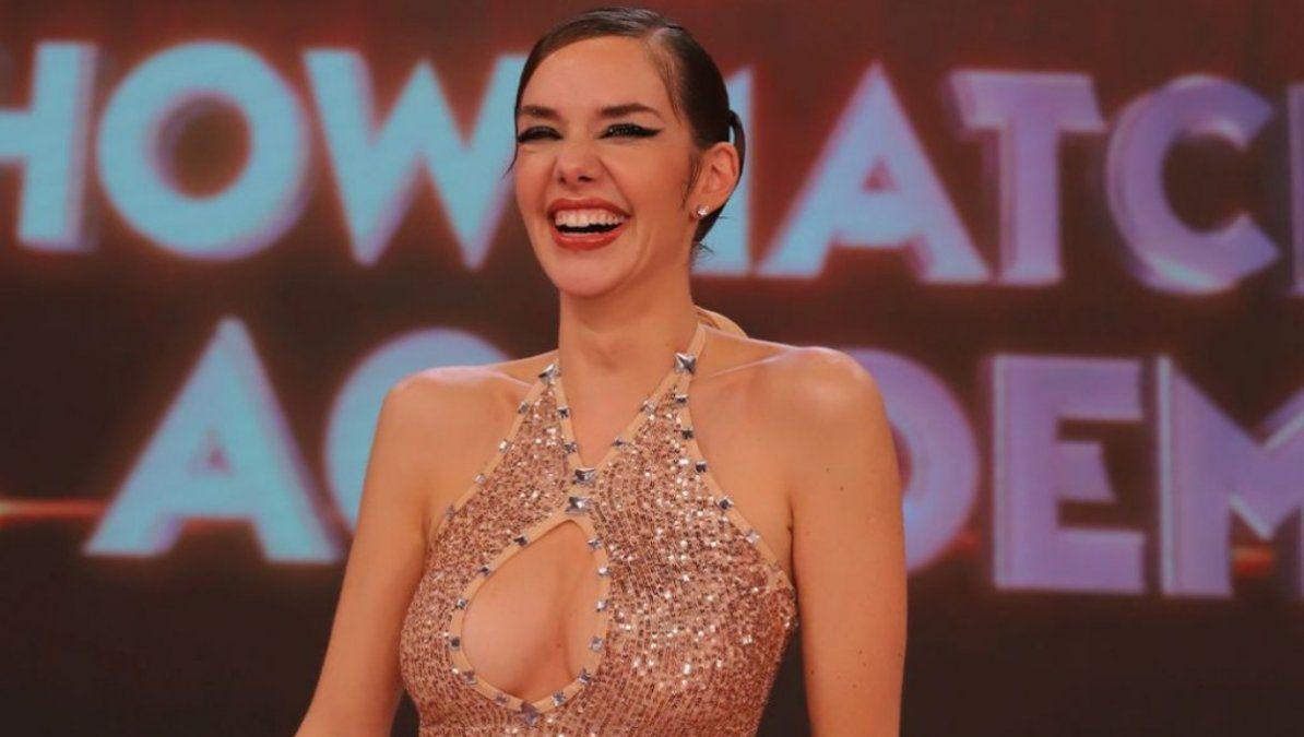 Julieta Nair Calvo mostró su panza de embarazada por primera vez