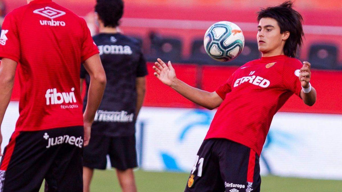 Luka Romero debutó a los 15 años en la liga europea