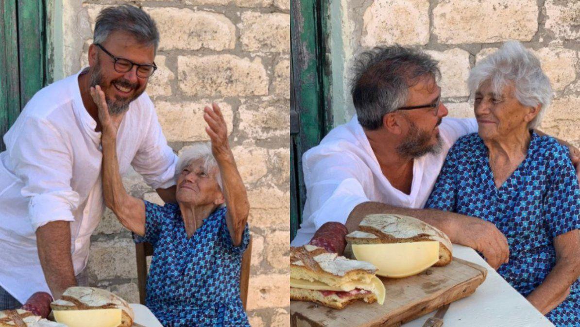 Donato de Santis le dedicó un sentido mensaje a su mamá por el Día de la Madre
