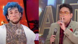 Ocar Mediavilla y Alex Caniggia tuvieron un fuerte enfrentamiento en el cantando 2020