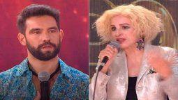 Casi una burla Nacha Guevara le puso cero al performance de Agustín Sierra