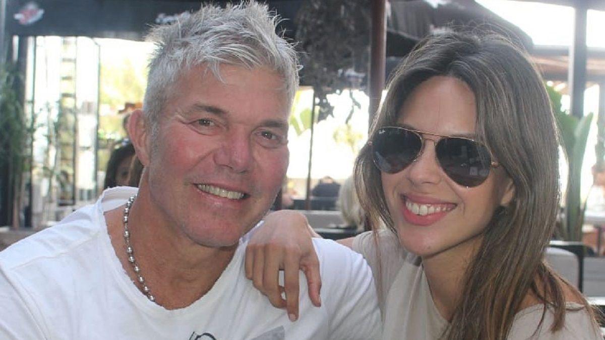 Fernando Burlando y Barby Franco