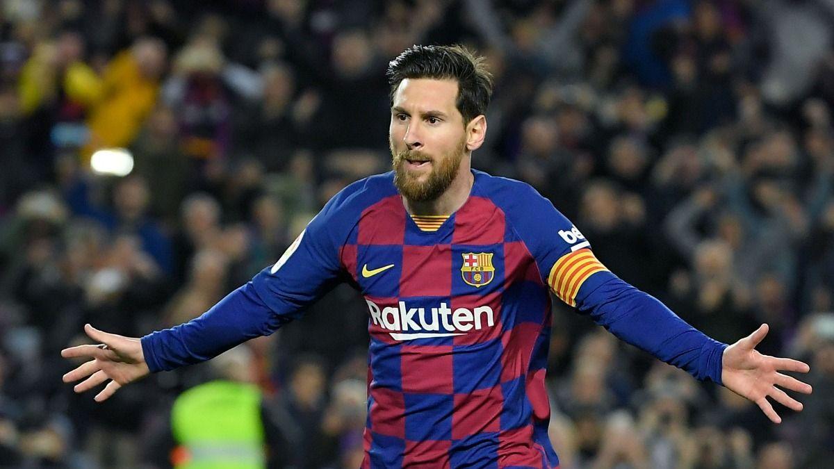El astro argentino Lionel Messi