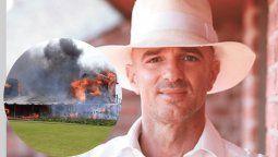 Alan Faena y el terrible incendio en PDE