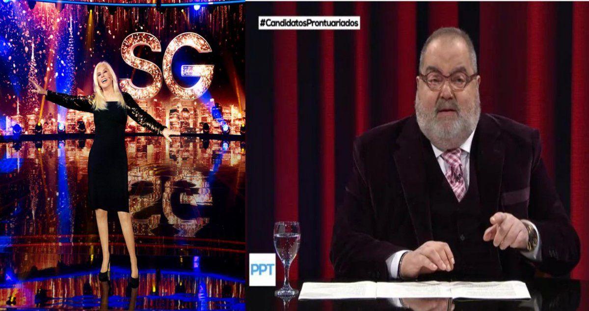 Rating: cómo le fue a Susana Giménez en su regreso a la TV y cuánto midió Jorge Lanata