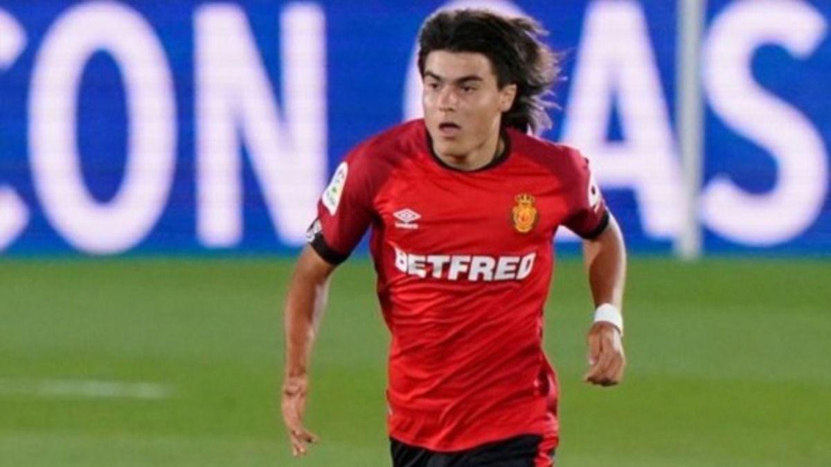 El jugador argentino Luka Romero