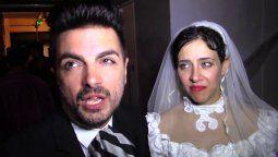 Ale Sergi y Juliana Gattas, de Miranda, fueron pareja