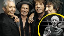 Charlie Watts, baterista de los Rolling Stones, murió en paz a los 80 años