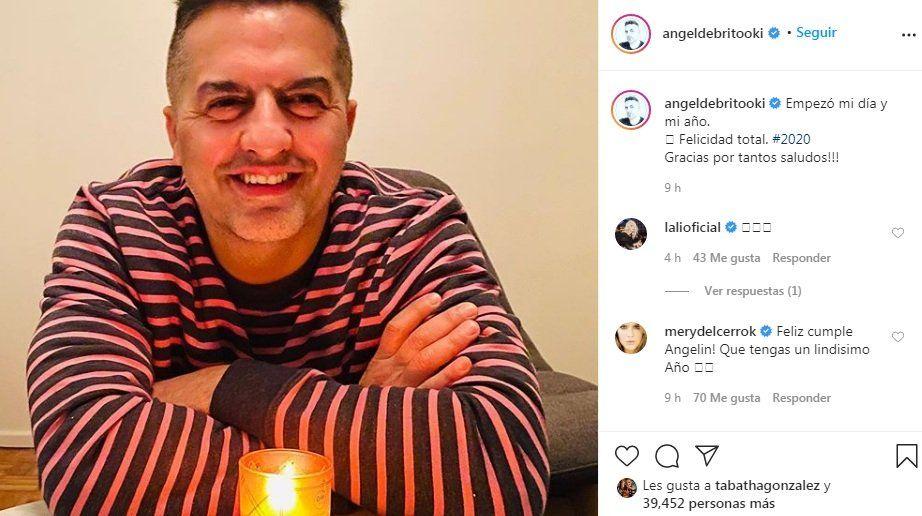 Ángel de Brito en Instagram