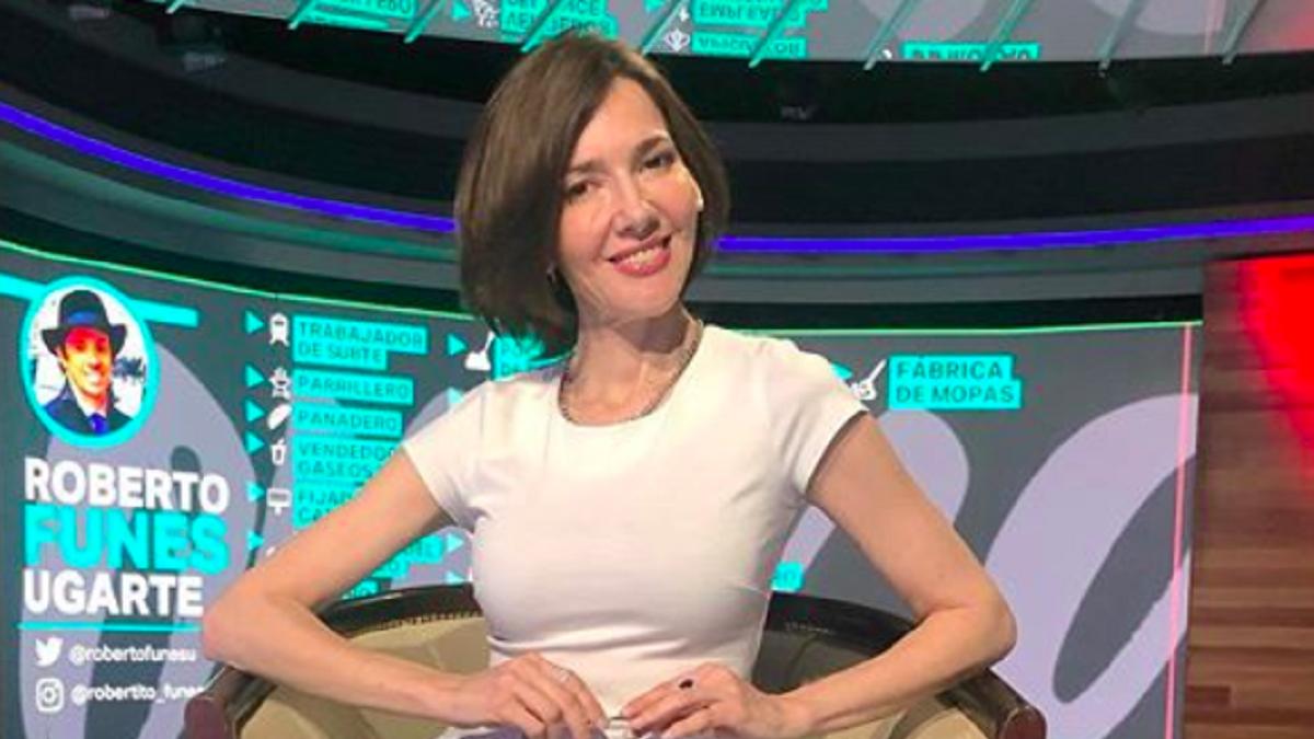 Cristina Pérez está feliz por el rating de su programa