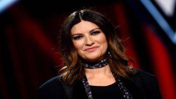 La cantante Laura Pausini posteó un mensaje tras la muerte de Diego Maradona que después borró