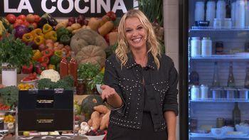 Carina Zampini, conductora de El Gran Premio de la Cocina