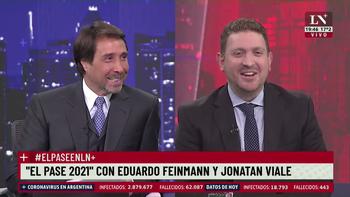 Eduardo Feinmann habló de la salud de Jonatan Viale: Preocupante