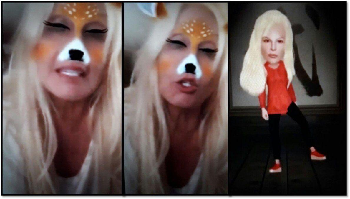 Susana sube fotos con orejas de conejo y más filtros a su flamante Instagram