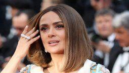 Salma Hayek muestra todo su amor a la hija de Alfonso Cuarón