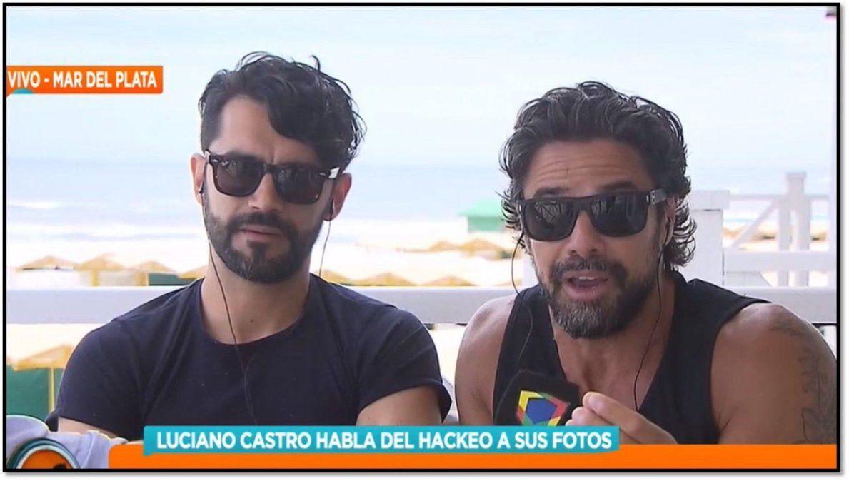 Luciano Castro habló de la viralización de sus fotos: He visto a muchos que se reían de mí y después lloran y piden piedad en cámara