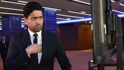 Deja a Lionel Messi, ladrón, así fue recibido Nasser Al-Khelaifi