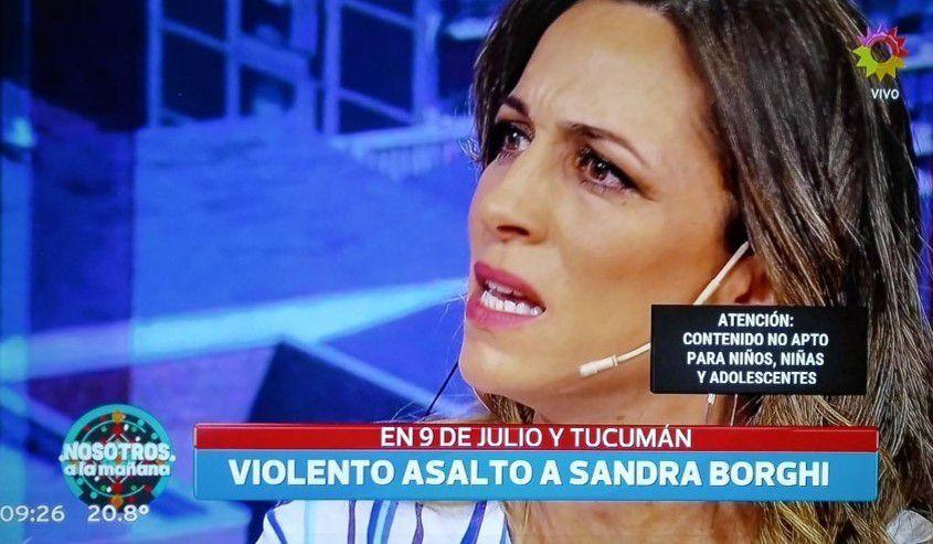 Violento asalto a Sandra Borghi: Llegué muerta de miedo; mi hija deseaba la muerte de ladrón