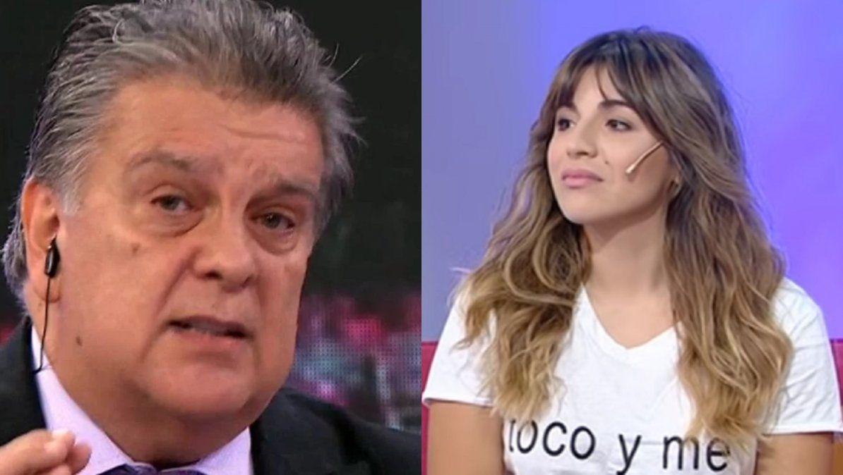 Luis Ventura habló sobre los pensamientos suicidas de Gianinna Maradona: No me importa lo que haga con su vida