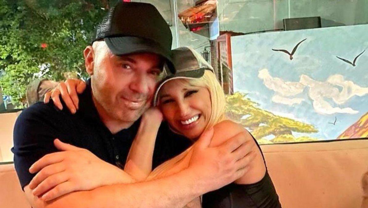 Vicky Xipolitakis y Germán Martitegui se reencontraron