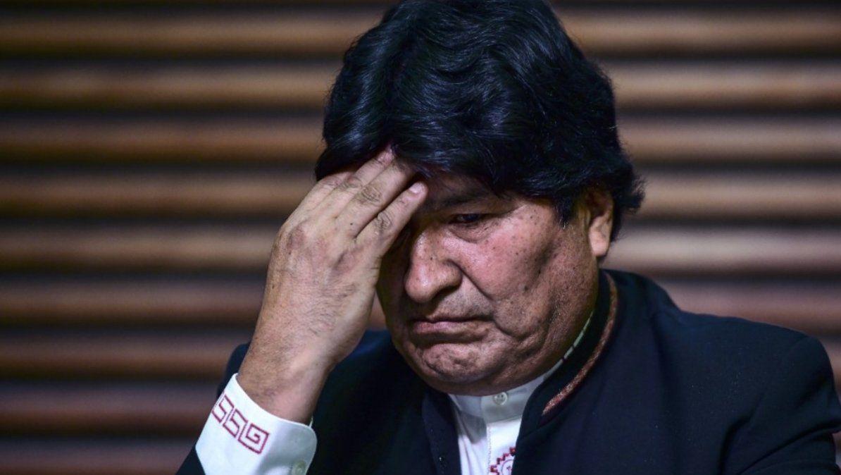 Evo Morales dio positivo para COVID-19