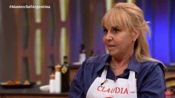 La ex esposa de Diego Maradona, Claudia Villafañe es una de las favorita de Masterchef Celebrity Argentina
