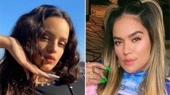 La razón del misterioso enfrentamiento entre Rosalía y Karol G