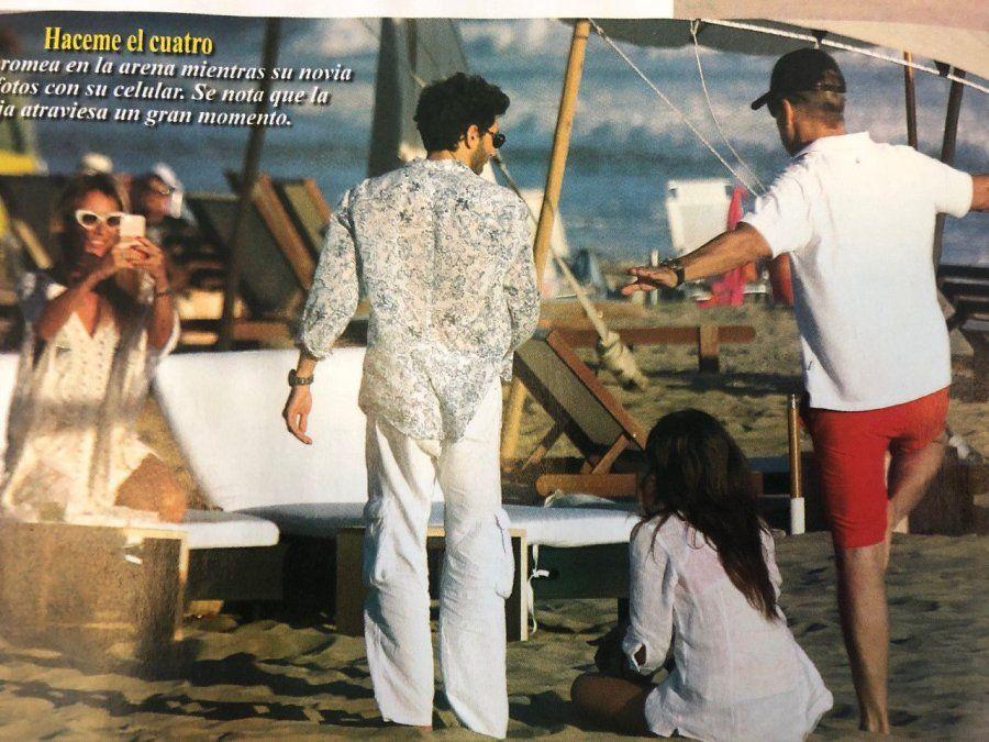 Lejos de Luciana Salazar, Martín Redrado oficializa a su novia: juntos y felices de vacaciones con Lulu Sanguinetti