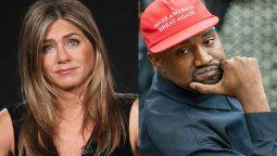 ¡Gancho al hígado! Jennifer Aniston: No es gracioso votar por Kanye