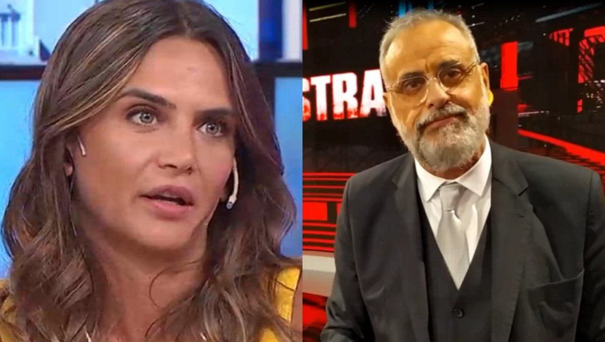 Amalia Granata lapidaria con Jorge Rial: ¿Por qué no habla de lo que es él como padre?
