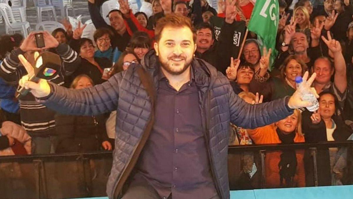 Diego Brancatelli lo banca a Lázaro Báez