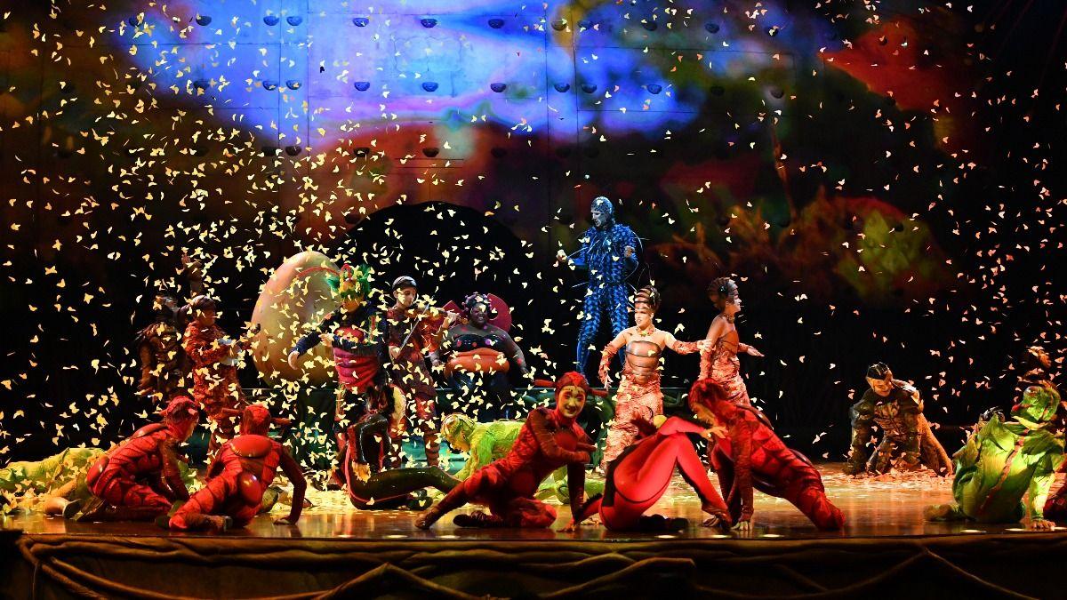 El show que produce el Cirque du soleil en honor a Messi seguirá en marcha